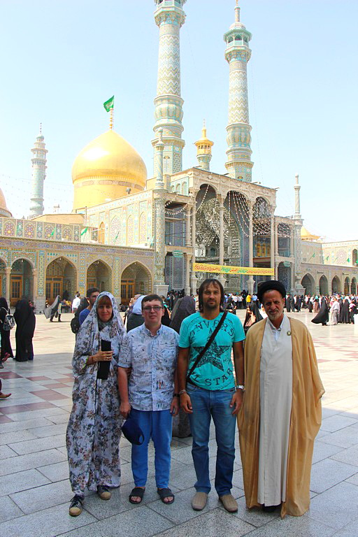 Тур в Иран Qom Fatima Masumeh Shrine