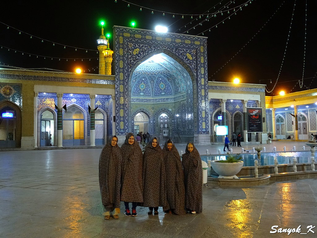 0204 Тур в Иран 2017 Fatima Masumeh shrine Qom