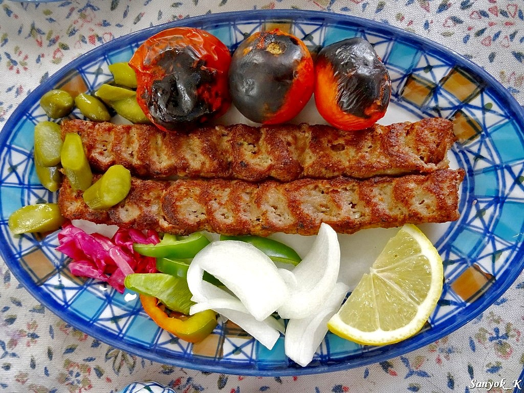 3032 Nain Tourist hotel and restaurant koobideh kebab Наин Ресторан Турист отель кубиде кебаб
