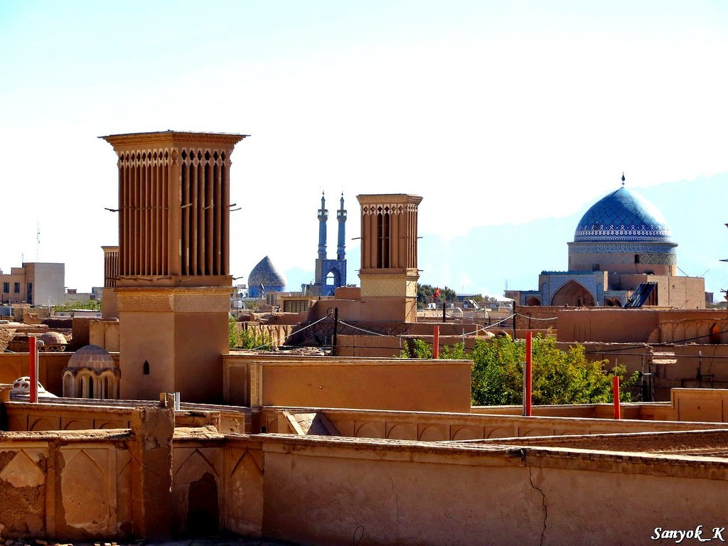 2787 Yazd Old city Йезд Старый город