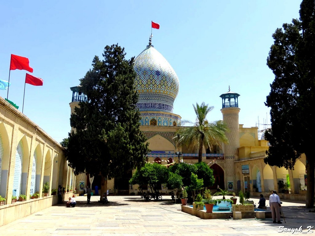 9707 Shiraz Ali Ibn Hamzeh Shrine Шираз Мавзолей Али ибн Хамзе