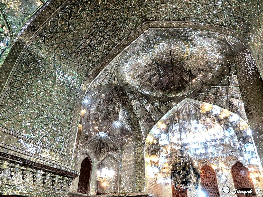 9713 Shiraz Ali Ibn Hamzeh Shrine Шираз Мавзолей Али ибн Хамзе