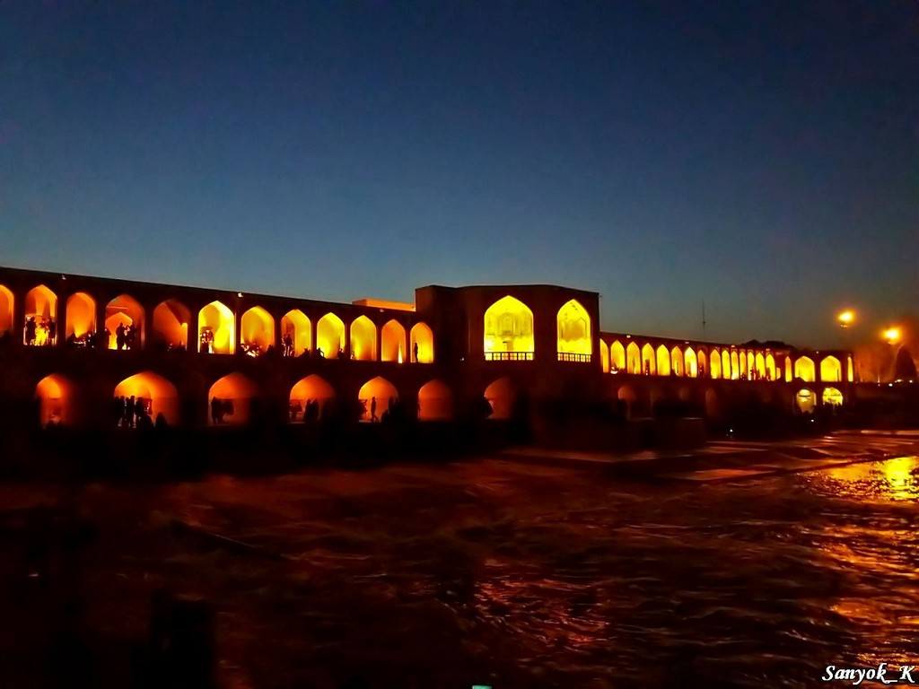 0243 Isfahan Khaju Bridge Исфахан Мост Хаджу