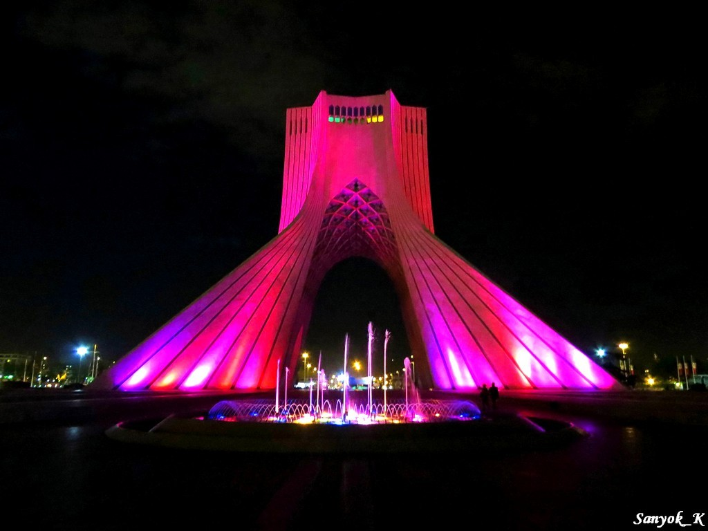 0805 Tehran Azadi tower Тегеран Башня Азади