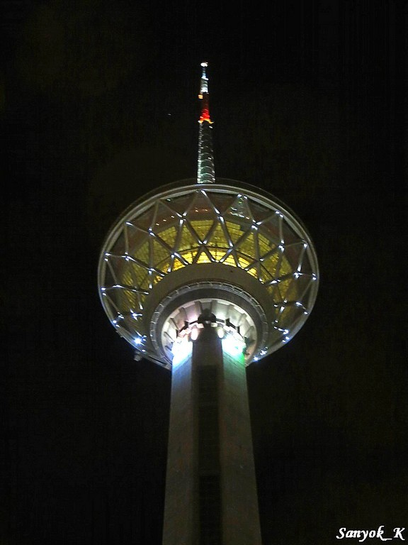 0027 Tehran Borj e Milad Milad tower Тегеран Башня Милад Бордж е Милад