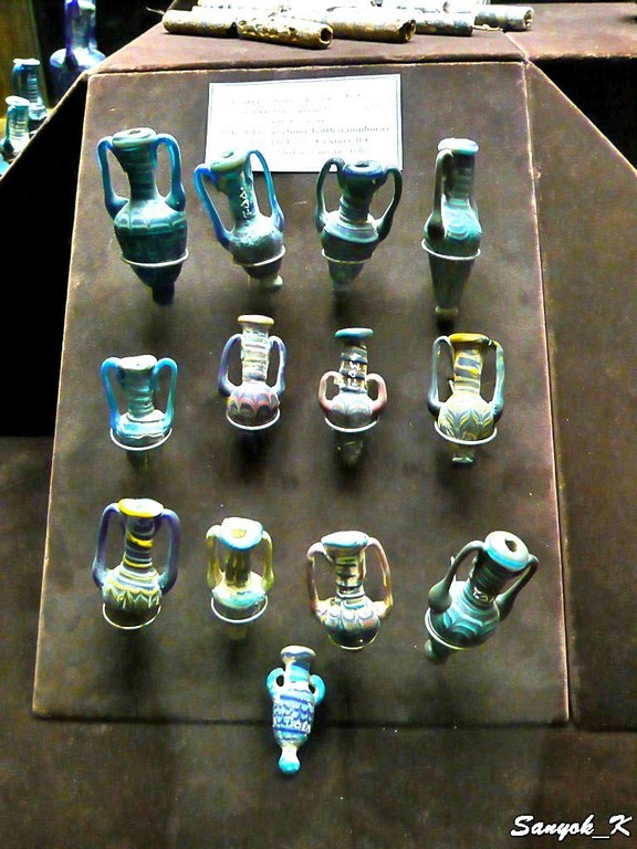 0174 Tehran Glass and Ceramics Museum Тегеран Музей стекла и керамики