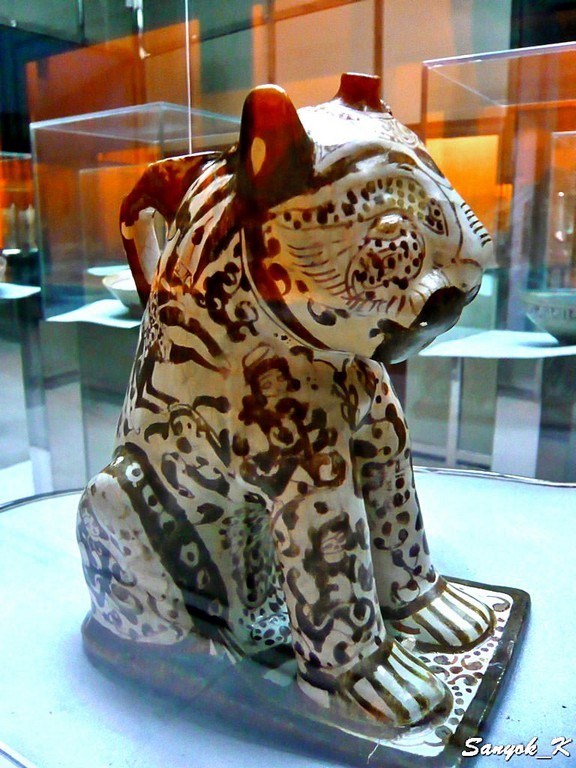 0187 Tehran Glass and Ceramics Museum Тегеран Музей стекла и керамики