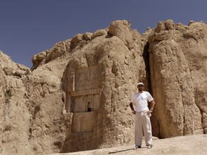 Author in Naqsh-e Roustam