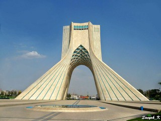 0799 Tehran Azadi tower Тегеран Башня Азади