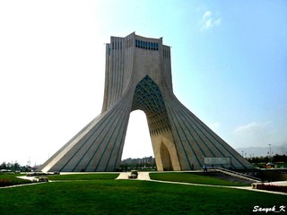 0802 Tehran Azadi tower Тегеран Башня Азади