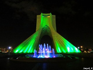 0804 Tehran Azadi tower Тегеран Башня Азади